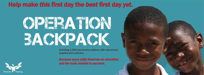 Operation Backpack - Because every child deserves an education and the tools needed to succeed
